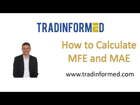How to Calculate the MFE and MAE in Excel