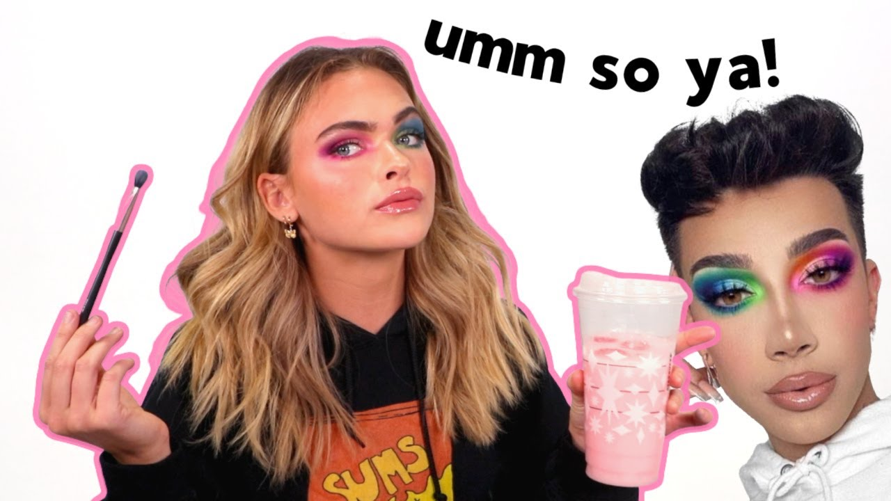 Trying To Do My Makeup Like James Charles... | Summer Mckeen