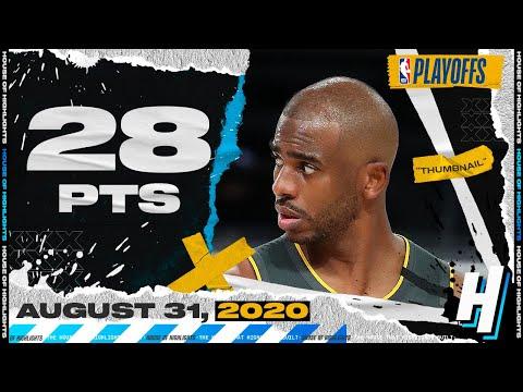 Chris Paul 28 Pts Full Game 6 Highlights | Thunder vs Rockets | August 31, 2020 NBA Playoffs
