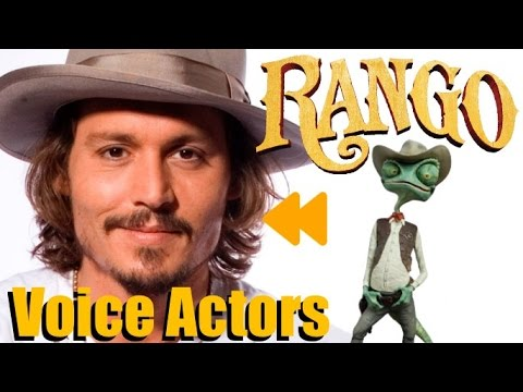 Rango 2011 Voice Actors And Characters Youtube