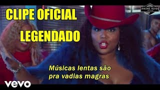 Lizzo - Tempo [Tradução - Legendado] [PT-BR] [CLIPE OFICIAL] Ft. Missy Elliott