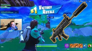 This is the New BEST WEAPON in Fortnite - Fortnite Battle Royale Gameplay (Controller VS PC)