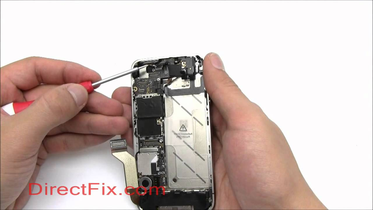 Back Of Iphone 4s Diagram Honda Ct90 Wiring Reassemble Screen And Digitizer Directfix Youtube