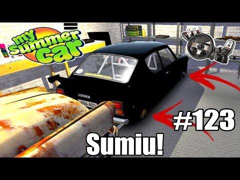 My Summer Car - ROUBARAM MINHAS RODAS? #123 (G27 mod)