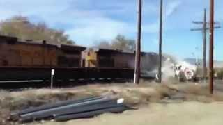 Man captures video of train crash