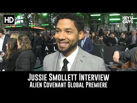 Jussie Smollett Premiere Interview - Alien Covenant