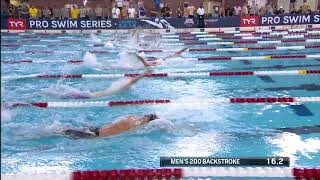 Men's 200m Back A Final | 2018 TYR Pro Swim Series - Columbus
