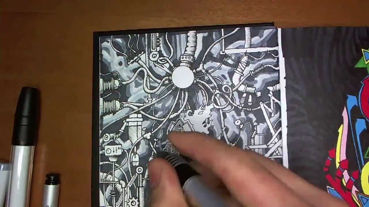 Drawing in my Book #1 - YouTube