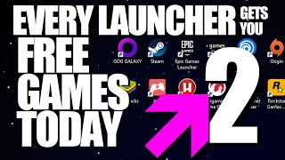 EVERY GAME LAUNCHER gets FREE GAMES 2 - Steam Epic GOG Origin Uplay PS4 Xbox - Among Us Free on PC