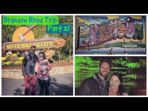 Branson, MO Vlog 2 | Silver Dollar City & Lambert's Cafe