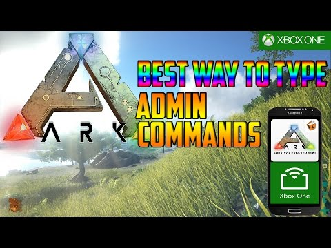 Xbox One: Ark Survival Best Way To Type Admin Commands In!