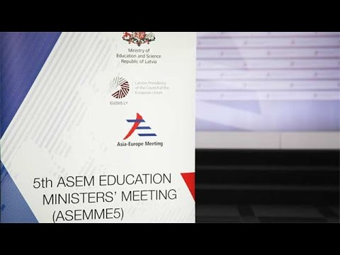 Riga hosts meeting of Asian, European education ministers