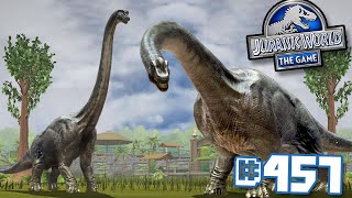 Brachiosaurus Is Finally In The Game!!! || Jurassic World - The Game - Ep 457 Hd