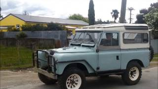 1958 series 2 Land Rover 1st drive in many years