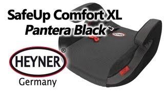 HEYNER SafeUp Comfort XL Pantera Black — бустер — видео обзор 130.com.ua