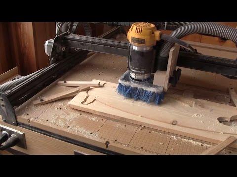 L'gosseux d'bois Ep 122 - Un balai pour mon X-Carve