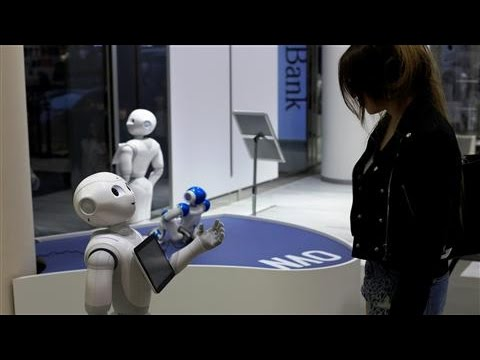 Robots Move Into Japanese Homes