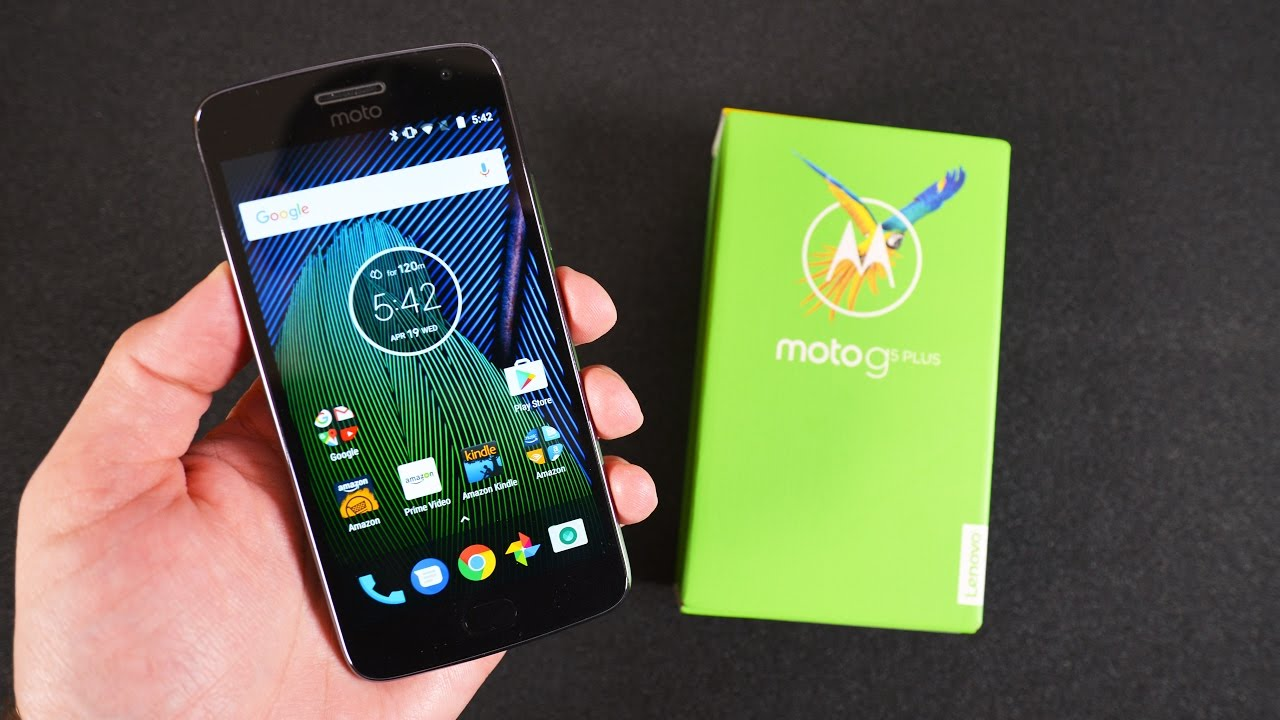 a26718b985 Moto G5 Plus  Unboxing   Review - YouTube
