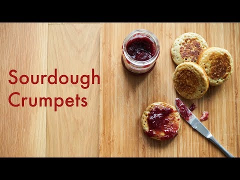 Sourdough Crumpets | What To Do With Discarded Sourdough | In Carinas Kitchen
