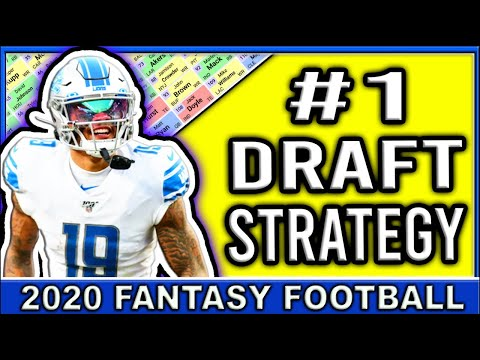 2020 Fantasy Football Draft Strategy | Fantasy Football Mock Draft 2020