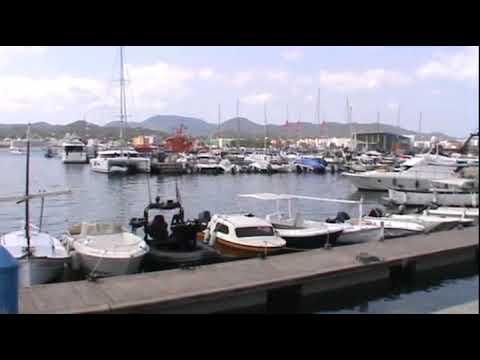 Ibiza-Elvissa Castle Marine Port Beach Kale Liman Plaj