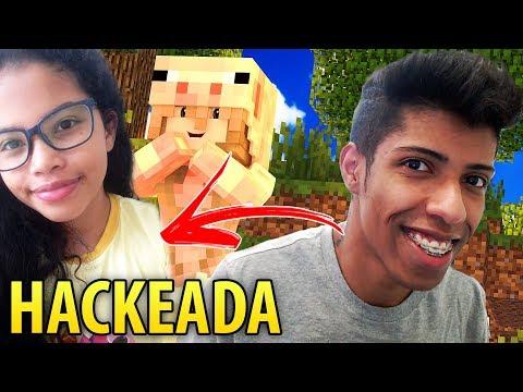Minecraft: INVADI A CONTA DA MINHA IRMÃ NO MINECRAFT ( Deu Ruim? )