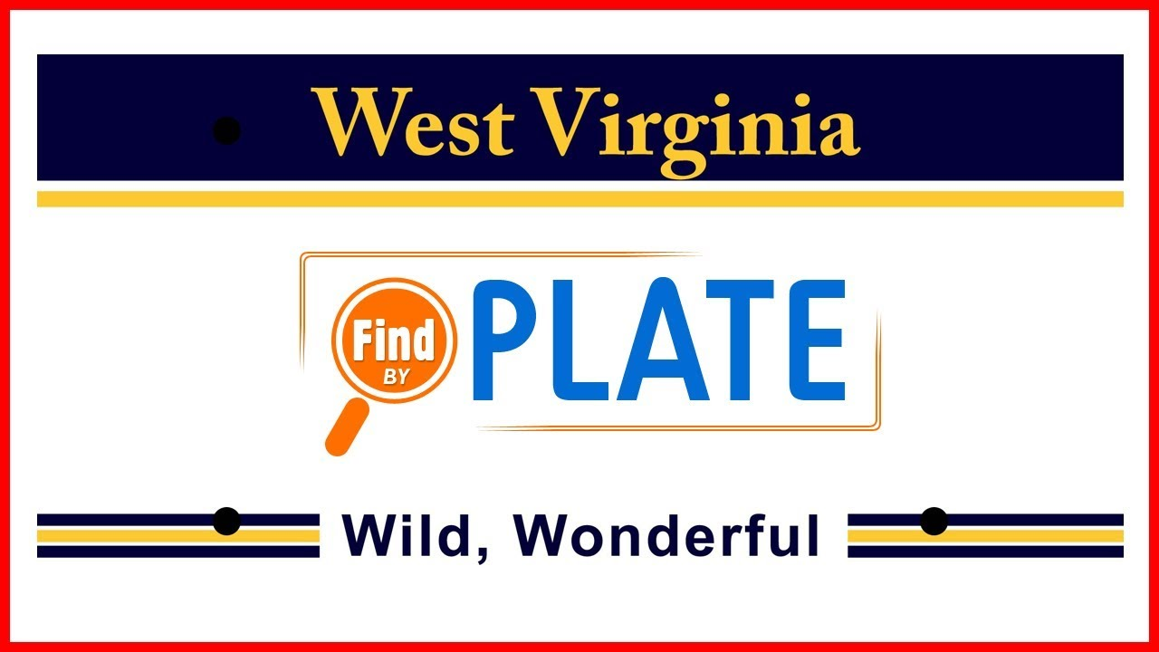 Looking Up West Virginia License Plates