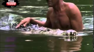 Guy Has Sex with Crocodile - Really Gross