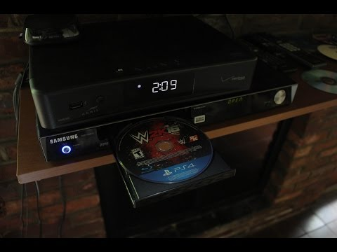 WHAT HAPPENS WHEN YOU PUT A PS4 GAME DISC IN A DVD PLAYER?