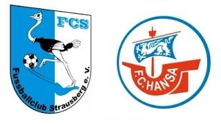 12.06.2016 FC Strausberg vs. Hansa Rostock II 2:2