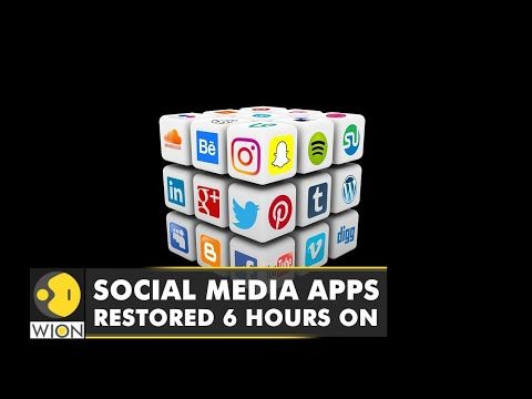 Facebook, Instagram, and WhatsApp restored after hours-long outage | WION English News