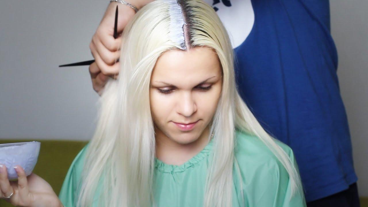 Осветление волос на 3% оксиданте от ТМ Concept - YouTube