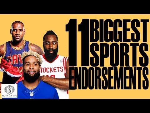 Black Excellist: Sports Biggest Endorsement Deals