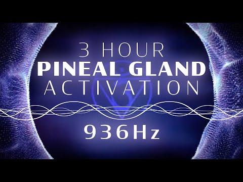 936 Hz Pineal Gland Activation ~ 3hr Alpha Brainwave Binaural Meditation Extended Version
