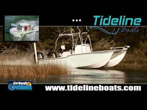 Jim Baugh Outdoors New Boat Sponsor 2017 Tideline Catamaran Boats Chesapeake Bay Offshore