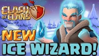ICE WIZARD CLASH of CLANS epic attacks OF TOWN HALL 8 with all ICE WIZARDS