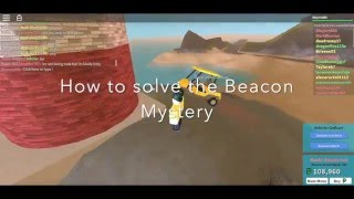 How to solve the Beacon Mystery in The Plaza (ROBLOX)