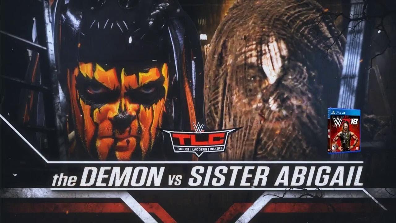WWE 2K18 - Sister Abigail vs Demon Finn Balor (Gameplay) - YouTube