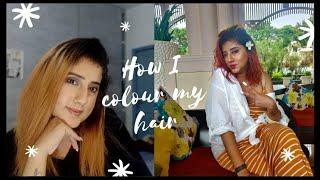 Colour your hair red/blue/green at home   Chetna gambhir