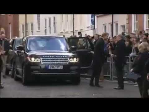 Prince Harry And Megan  at Nottingham Academy