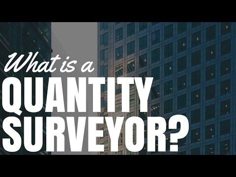 What Is A Quantity Surveyor?