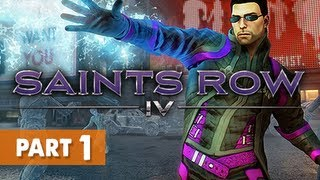 Saints Row 4 Gameplay Walkthrough Part 1 - Zero Saints Thirty