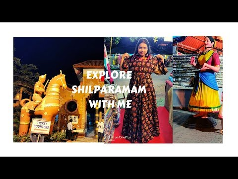 Telangana Tourism | Explore Hyderabad with me | Shilparamam | Shopping in Hyderabad