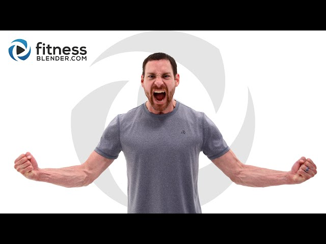 At Home HIIT Workout - Intense Calorie Burning HIIT Cardio Workout for Busy People