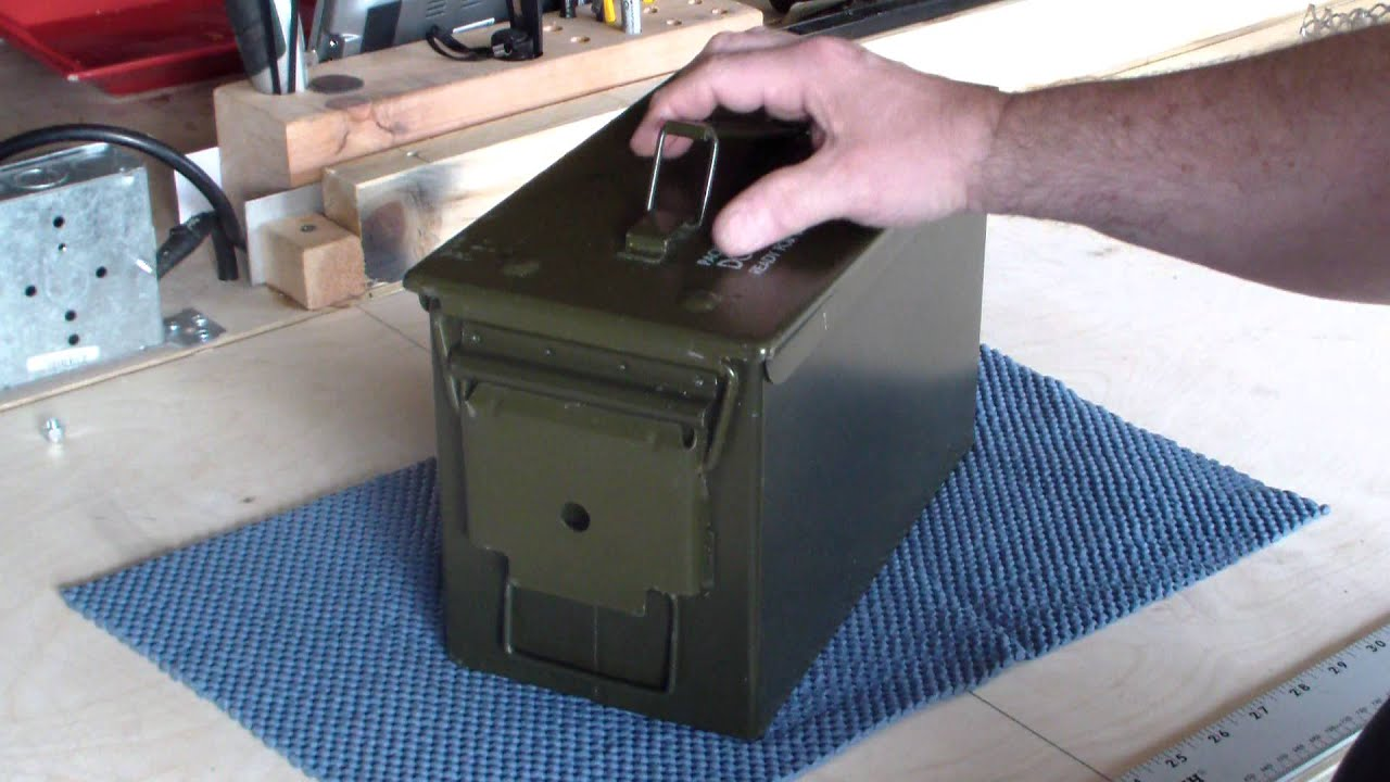 20mm ammo can tent stove part 1 of 5 youtube for How to make a stove