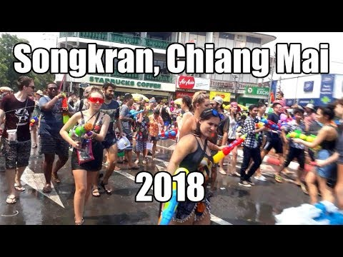 Songkran, Chiang Mai 2018