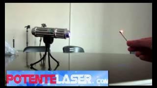 Laser Azul Super Potente Combustión Eficiente Cigarrillo y Vela
