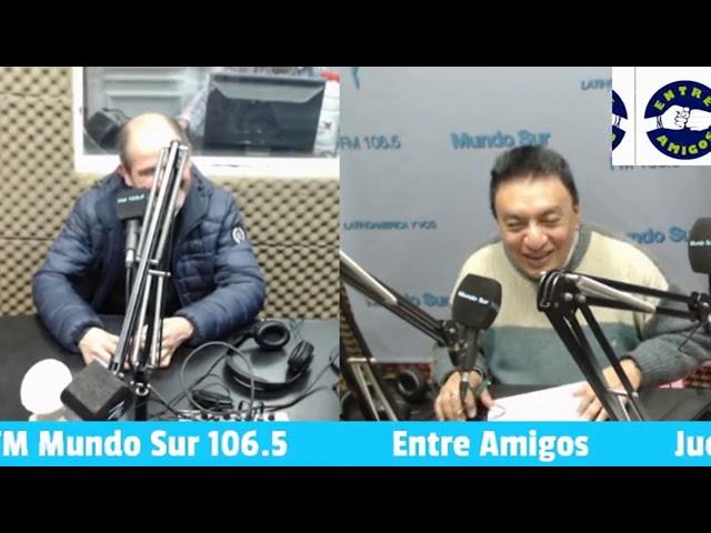 Entre Amigos entrevista con Daniel Bazan (08-08-19)