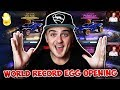 WORLD RECORD Golden Egg Opening HIGHLIGHTS! | Only PAINTED & BLACK MARKET ITEMS! Rocket League