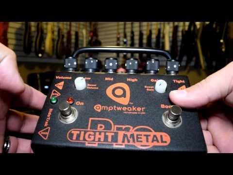 AWESOME PEDAL ALERT!!!  Amptweaker Tight Metal Pro Distortion Pedal